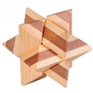 3D Wood Brain Teaser Puzzle