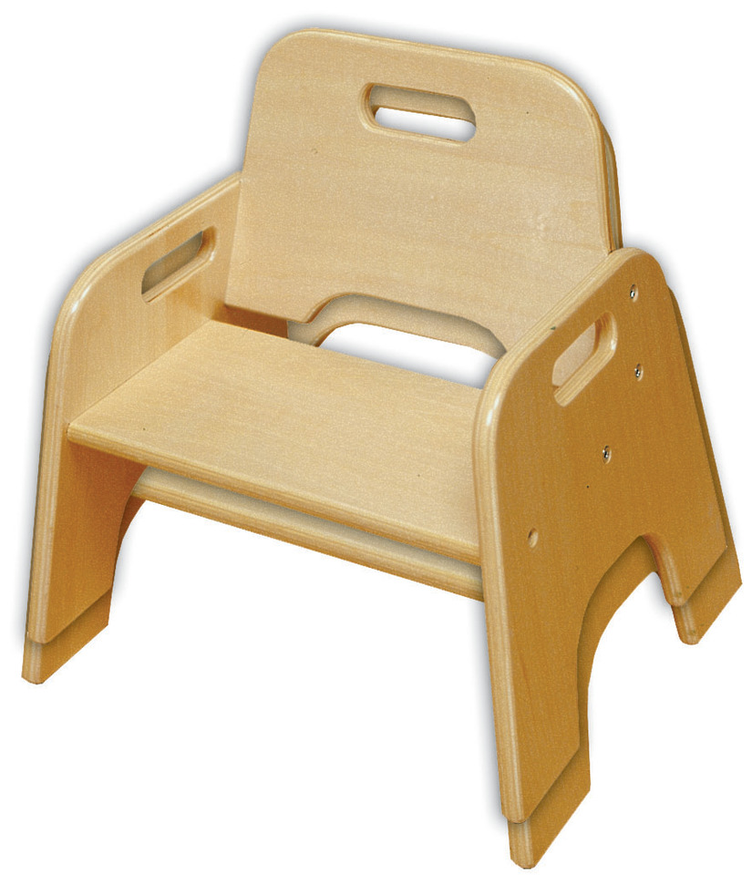 Elr 18007 10 Stackable Wooden Toddler Chair Rta